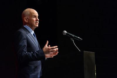 Clough Colloquium Prime Minister Papandreou (Oct. 8, 2014)